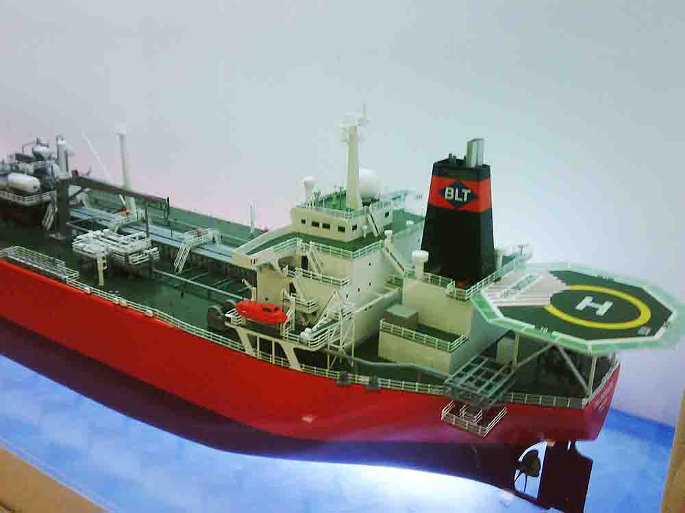 pembuatan maket kapal tanker - maketscala - com